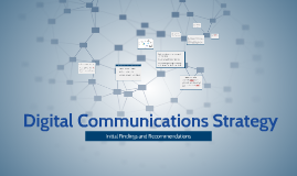 Copy of  Digital Communications Strategy