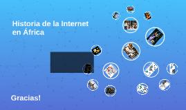Historia de la Internet en África
