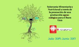 Soberanía Alimentaria y Nutricional a través de la promoción