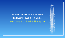 BENEFITS OF SUCCESSFUL