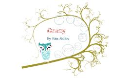 Crazy, Han Nolan, IR Book Project