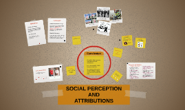 social perception and attribution