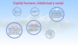 Capital humano, intelectual y social