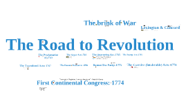 Copy of Copy of The Road to Revolution