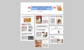 ANTECEDENTES DE LA PUBLICIDAD