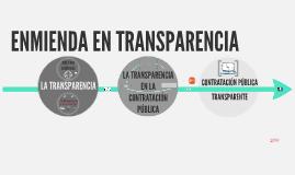 Copy of Transparencia y contratación pública.