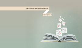 """""""Nuevo enfoque de la fonología española"""
