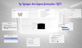 Copy of Language des signes francaise (LSF)