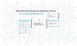 REUNIÓN DE TRABAJO PERIODO 2017(1)