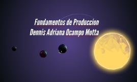 Fundamentos de Produccion