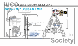 South East Asia Society AGM 2017