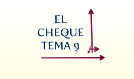 TEMA 9 EL CHEQUE
