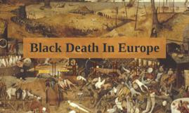 Black Death In Europe