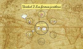 Unidad 2 Las formas jurídicas