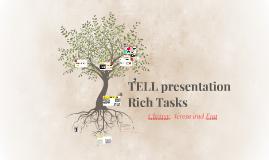 TELL presentation