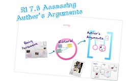 RI 7.8 Assessing Author's Arguments