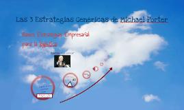 Copy of Las 5 Estrategias Genéricas de MIchael Porter!
