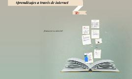 Aprendizajes a través de internet