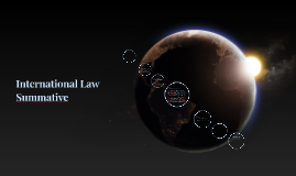 International Law and It's effectiveness