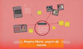 Copy of Regina Maria