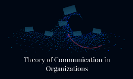 Theory of Communication in Organizations