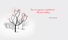 How to organize a traditional Chinese wedding