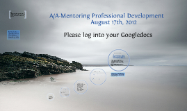 A/A Professional Development