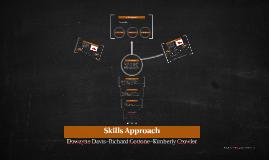 Skills Approach
