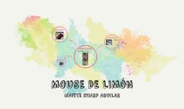 MOUSE DE LIMÓN