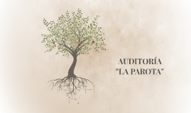 Copy of Copy of AUDITORIA