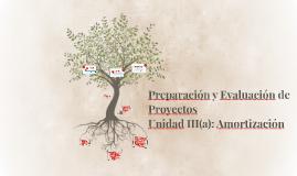 Preparación y Evaluación de Proyectos III(a): Amortización