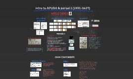 APUSH intro/per 1