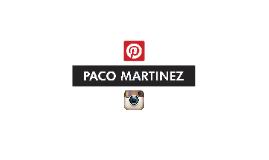 Instagram y Pinterest- Paco Martinez