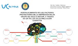 FORTALECIMIENTO DE LOS FACTORES PROTECTORES DE LA DEPRESIÓN