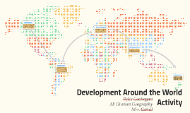 Development Around the World Activity