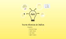 TEORIAS DE DALTON