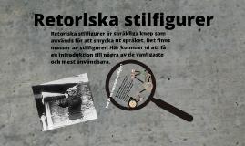 Copy of Retoriska stilfigurer