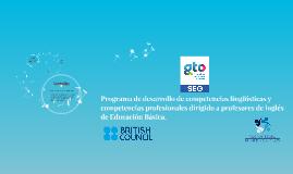 Programa de desarrollo de competencias lingüísticas y