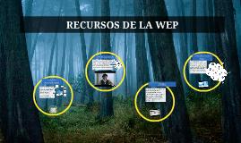 RECURSOS DE LA WEP