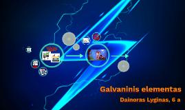 Galvaninis elementas