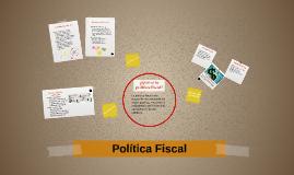 ¿Qué es la política fiscal?
