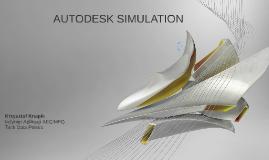 Symulacje Autodesk wersje 2016 - skrót