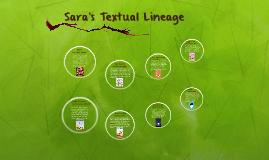 Sara's Textual Lineage
