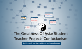 The Greatness Of Asia: Student Teacher Project