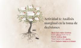 Copy of Actividad 6: Análisis marginal en la toma de decisiones