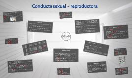 Copy of Conducta sexual - reproductora