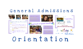 SJSU Department of Special Education: General Information