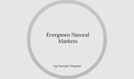 Evergreen Natural Markets