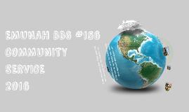 Emunah BBG Community Service Presentation