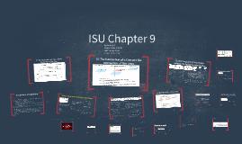 ISU Chapter 9